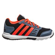 adidas Essential Star 2 Kids Cross Training Shoes Black US 1, Black, rebel_hi-res