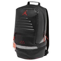 Jordan Retro III Backpack Black / Red, , rebel_hi-res