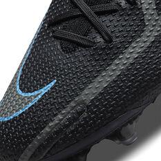 Nike Phantom GT2 Elite Football Boots, Black/Grey, rebel_hi-res