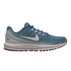 Nike Womens Air Zoom Vomero 13 Running Shoes Blue / White US 6 Blue, Blue / White, rebel_hi-res