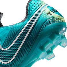 Nike Tiempo Legend 8 Elite Football Boots, Blue/Lime, rebel_hi-res