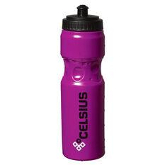 Celsius Squeezable 750ml Water Bottle, Purple, rebel_hi-res