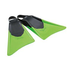 Raw Edge Surf Fins Black / Green S, Black / Green, rebel_hi-res