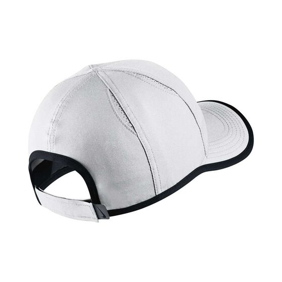 Nike Girls Featherlight Cap White / Black OSFA, , rebel_hi-res