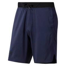 Reebok Mens One Series Training Epic Lightweight Shorts Navy M, Navy, rebel_hi-res