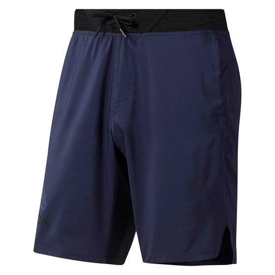Reebok Mens One Series Training Epic Lightweight Shorts Navy S, Navy, rebel_hi-res