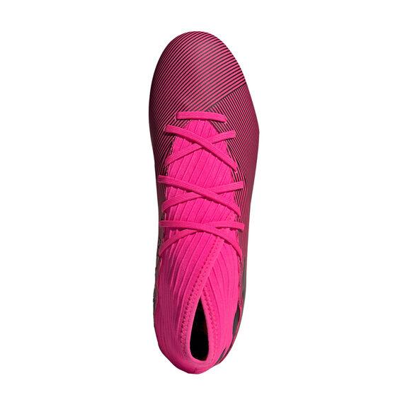 adidas Nemeziz 19.3 Football Boots, Pink / Black, rebel_hi-res
