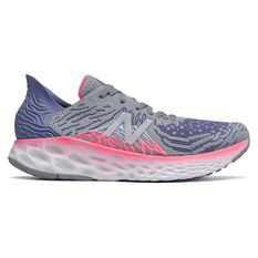 New Balance 1080 v10 Womens Running Shoes Purple/Grey US 6.5, , rebel_hi-res