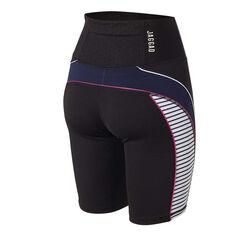 Jaggad Womens La Brea Spin Bike Shorts Black XS, Black, rebel_hi-res
