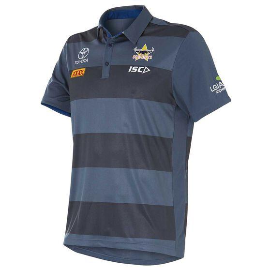 North Queensland Cowboys 2018 Mens Sublimated Polo Shirt, , rebel_hi-res
