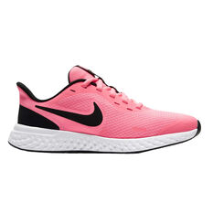 Nike Revolution 5 Kids Running Shoes Pink US 4, Pink, rebel_hi-res