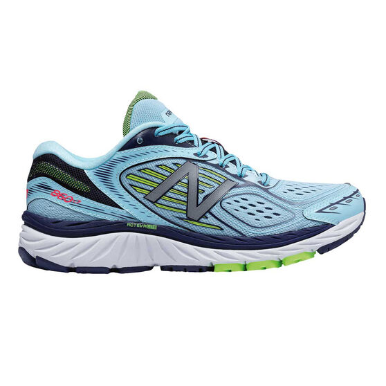 half off ea2ab 7d67d New Balance 860v7 D Womens Running Shoes White   Blue US 7, White   Blue