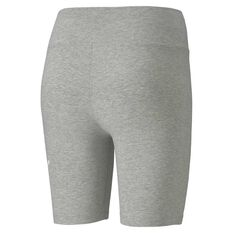 Puma Womens Essential 7 Inch Short Tights Grey XS, Grey, rebel_hi-res