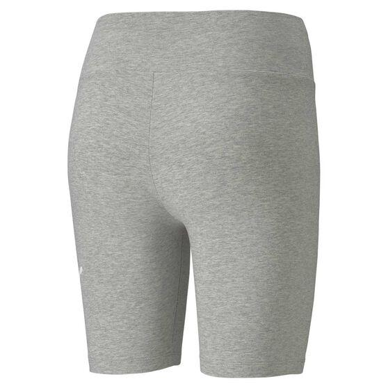 Puma Womens Essential 7 Inch Short Tights, Grey, rebel_hi-res