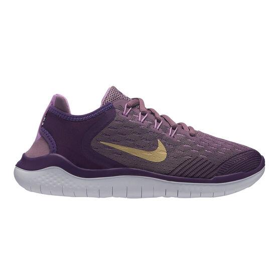 Nike Free RN 2018 Kids Running Shoes, , rebel_hi-res