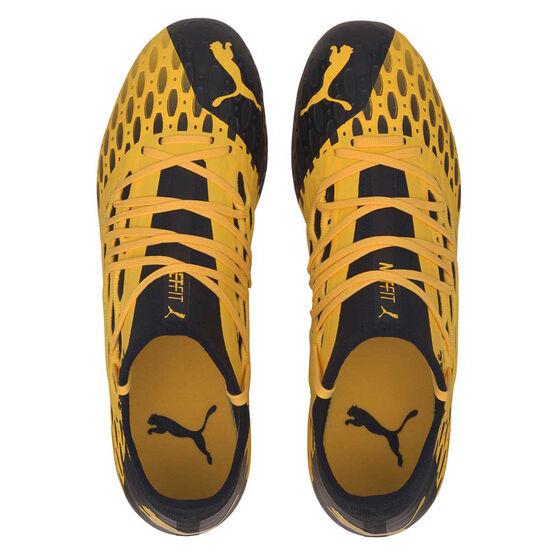 Puma Future 5.3 Netfit Football Boots, Yellow / Black, rebel_hi-res