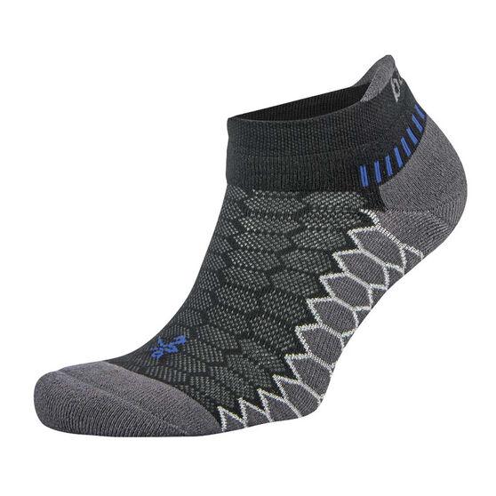 Balega Silver No Show Socks, Black, rebel_hi-res