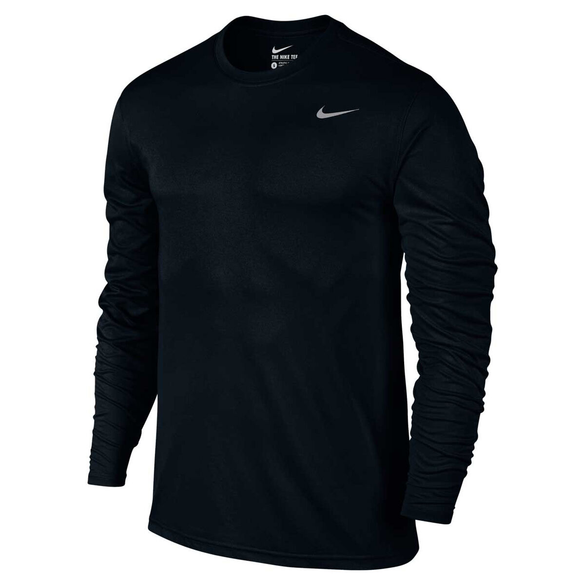 Mens Nike Sports Dry Dri Fit Running Shirt Top T-shirt Gym Training Tee S Xxl And To Have A Long Life. Men's Clothing