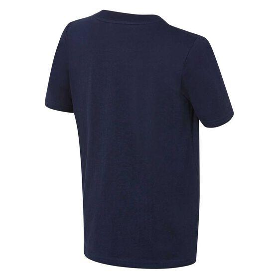 New York Yakees Short Sleeve Cotton Tee Navy / White L, Navy / White, rebel_hi-res