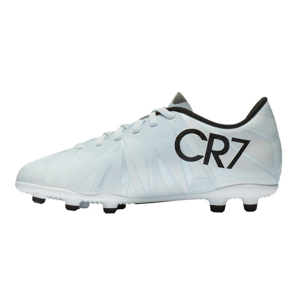 65a6936227 Nike Mercurial Vortex III CR7 Junior Football Boots Black / White US 1  Junior, Black