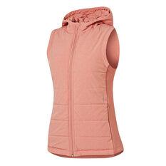 Ell & Voo Womens Masey Quilted Vest Pink XS, , rebel_hi-res