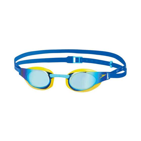 Speedo Fastskin Elite Mirror Junior Swim Goggles, , rebel_hi-res