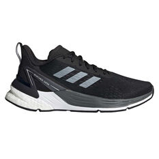adidas Response Super Kids Running Shoes Black/White US 4, Black/White, rebel_hi-res