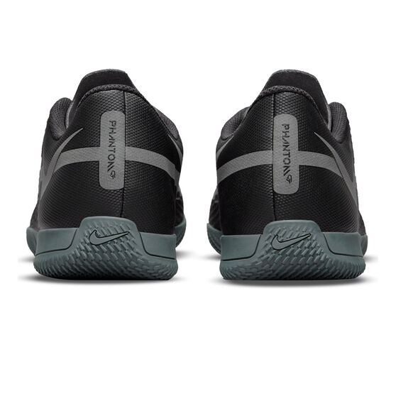 Nike Phantom GT2 Club Indoor Soccer Shoes, Black/Grey, rebel_hi-res