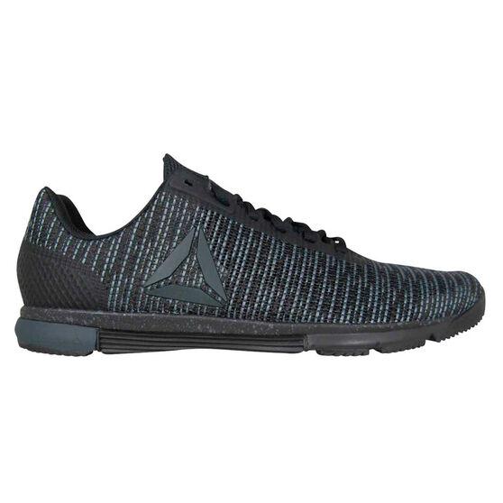 Reebok Speed Trainer Flexweave Mens Training Shoes, Black, rebel_hi-res