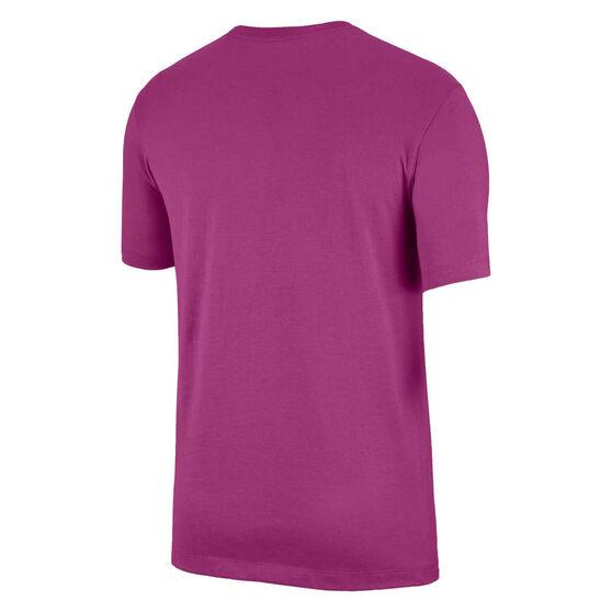 Nike Mens Sportswear Club Tee, Purple, rebel_hi-res