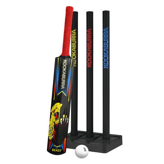 Kookaburra Beast Junior Plastic Cricket Set, , rebel_hi-res