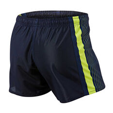 Canberra Raiders Mens Home Supporter Shorts Navy S, Navy, rebel_hi-res