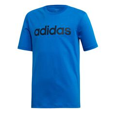 adidas Boys Essentials Linear T-Shirt Blue / Navy 4, Blue / Navy, rebel_hi-res