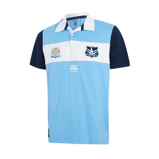 NSW Blues State of Origin 2019 Mens Vintage Jersey, Blue, rebel_hi-res
