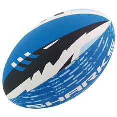 Steeden NRL Cronulla Sharks Supporter Rugby League Ball, , rebel_hi-res