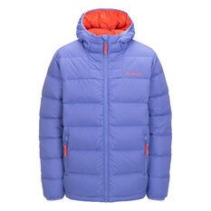 Macpac Kids Atom Hooded Jacket Blue 6, Blue, rebel_hi-res