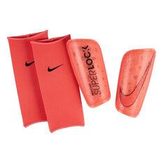 Nike Mercurial Lite SuperLock Shinguards Red / Black S, Red / Black, rebel_hi-res