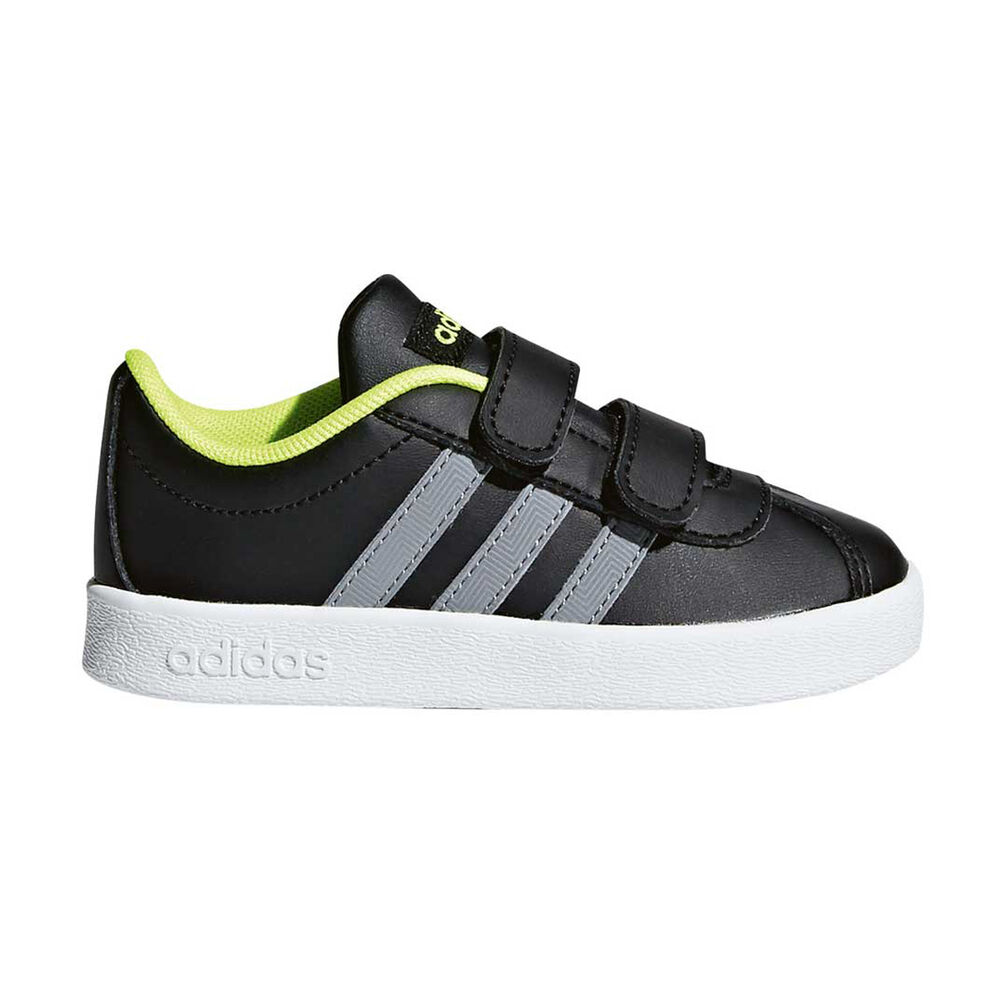 more photos a4cbb 5e4f2 adidas VL Court 2.0 CMF Toddlers Shoes Black   White US 9, Black   White