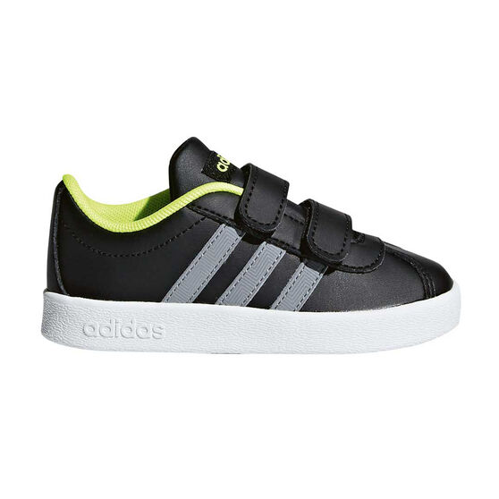 pretty nice d88d9 d4be1 adidas VL Court 2.0 CMF Toddlers Shoes Black   White US 4, Black   White