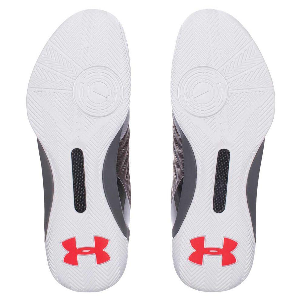 c72d2d15d691 Under Armour Curry 3 Low Mens Basketball Shoes Grey   Black US 7 ...