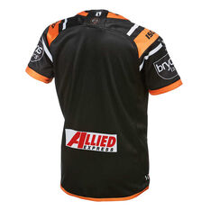 Wests Tigers 2019 Kids Home Jersey Orange / Black 8, Orange / Black, rebel_hi-res