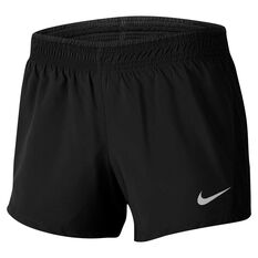 Nike Womens 2 In 1 Running Shorts Black XS, Black, rebel_hi-res