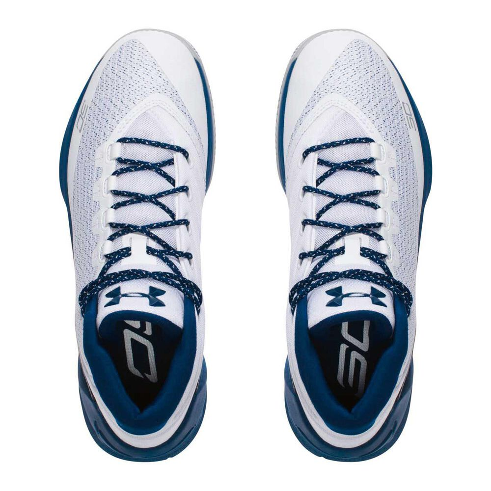 official photos a2523 58b16 Under Armour Curry 3 Mens Basketball Shoes White   Blue US 7, White   Blue