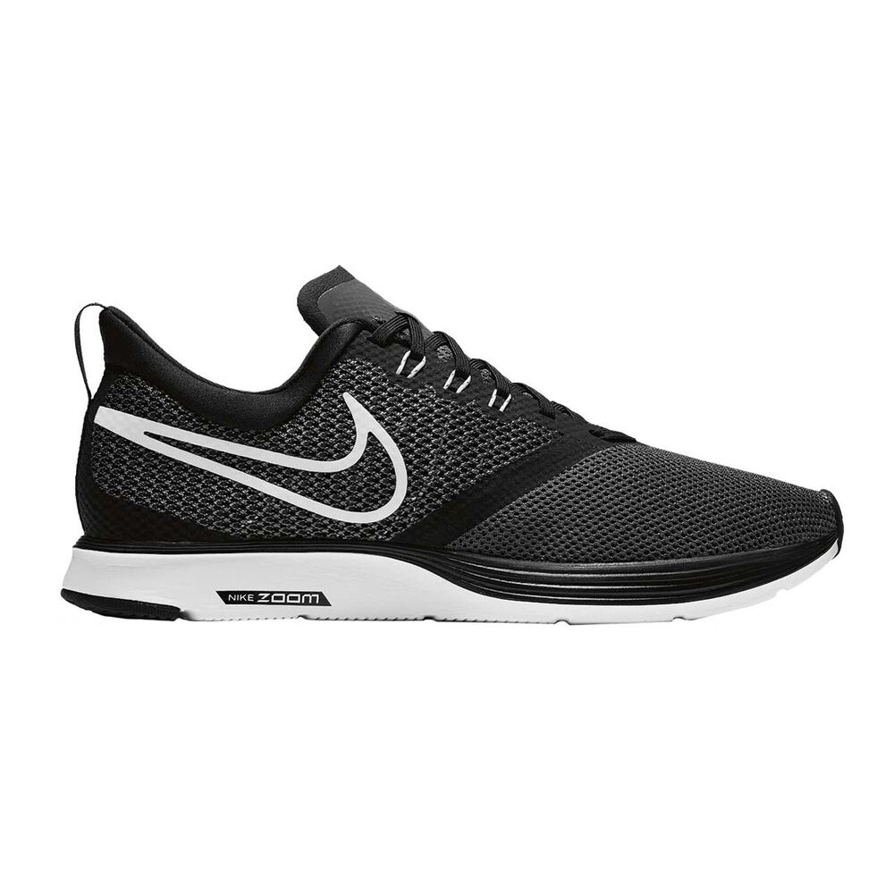 06e56d4f89a7 Nike Zoom Strike Mens Running Shoes Black   White US 10.5