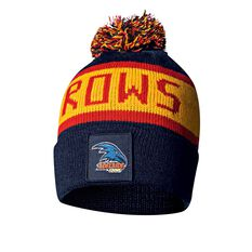 Adelaide Crows Bar Beanie OSFA, , rebel_hi-res