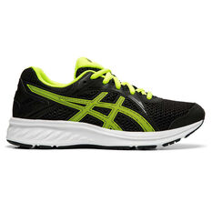Asics Jolt 2 Kids Running Shoes Black / Yellow US 4, Black / Yellow, rebel_hi-res