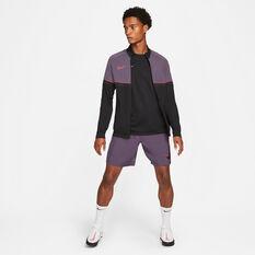 Nike Mens Dri-FIT Academy 21 Woven Soccer Shorts, Purple, rebel_hi-res