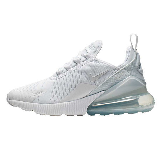 Nike Air Max 270 Kids Casual Shoes, White, rebel_hi-res