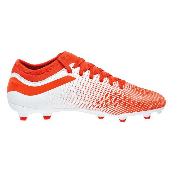 Umbro Velocita IV Club Kids Football Boots, White / Blue, rebel_hi-res