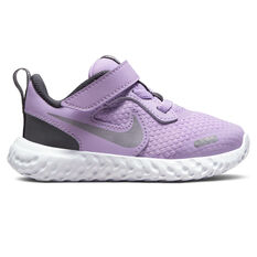 Nike Revolution 5 Toddlers Shoes Lilac/White US 2, Lilac/White, rebel_hi-res